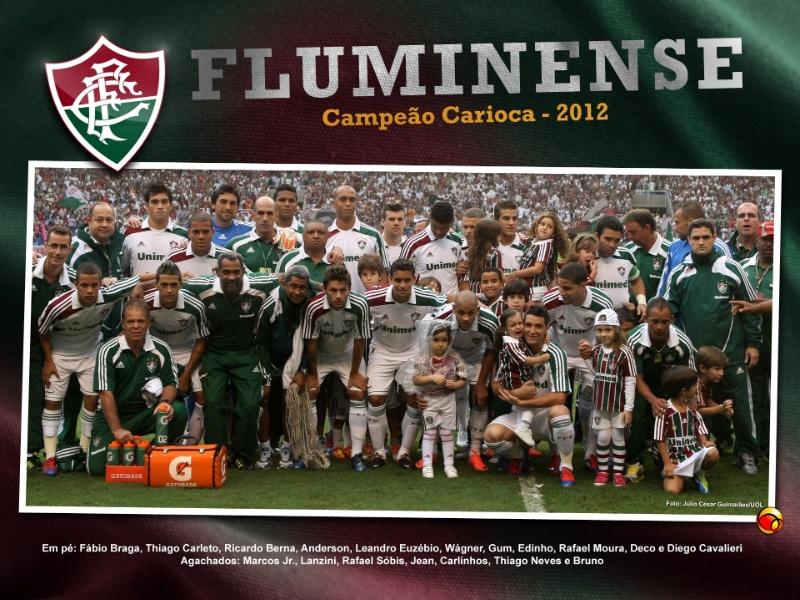 Final Do Campeonato Carioca 2012  Fluminense 1  0 Botafogo  Gols E